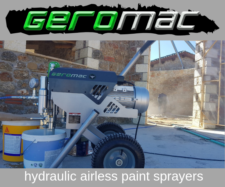 Hydraulic Airless Paint Sprayers GEROMAC